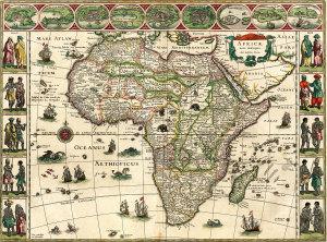 J. Blaeu, Novus  Atlas Teatrum Orbis Terrarum, Africa, 1635