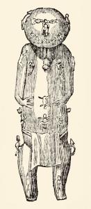 Ta'aroa, idole polynésienne