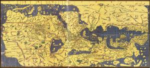 Mappemonde d'AL-Idrissi, 1130