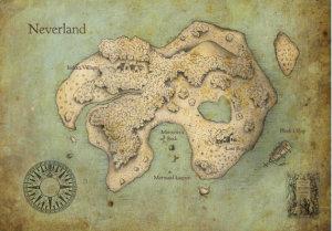 Carte de Neverland