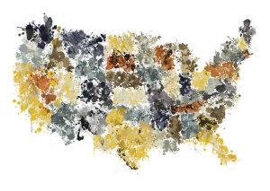 Tim Wallace bogus Pollock map