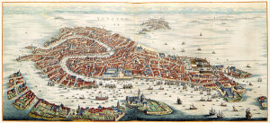 Venise, Johannes Blaeu, 1704