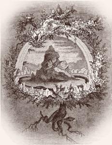 Yggdrasil, 1886,  Friedrich Wilhelm Heine